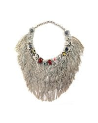 Iosselliani | Multicolor Anubian Jewels Statement Necklace | Lyst