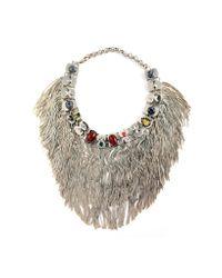 Iosselliani | Multicolor Anubian Jewels Statement Necklace | Lyst