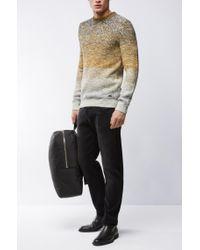 BOSS Orange - Black Tapered-fit Jeans In Super-stretch Denim for Men - Lyst