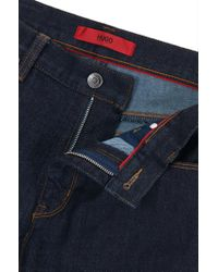 HUGO - Blue Slim-fit Jeans In Dyneema® Denim for Men - Lyst
