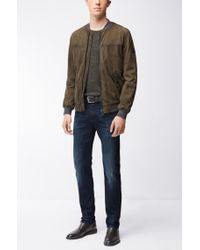 BOSS Orange | Blue Tapered-fit Jeans In Super-stretch Denim for Men | Lyst