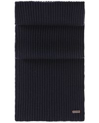 BOSS Orange | Blue Cotton-blend Scarf 'ariffon' for Men | Lyst