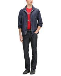 BOSS Green - Red Regular-fit T-shirt In Single Jersey for Men - Lyst