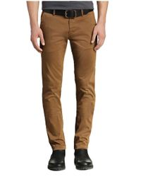 BOSS Orange - Brown 'schino Slim D' | Slim Fit, Stretch Cotton Chino Pants for Men - Lyst