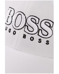 BOSS Blue 'cap Us' | 3-d Logo Performance Hat for men