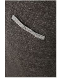 BOSS Orange - Gray 'pyx' | Slim Fit, Cotton Melange Polo for Men - Lyst