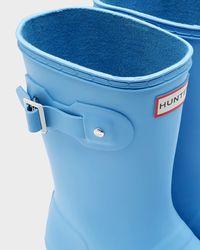 Hunter - Blue Women's Original Tour Short Rain Boots - Lyst