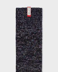 Hunter - Black Unisex Original Aurora Borealis Knee High Socks for Men - Lyst