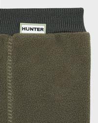 Hunter - Green Fitted Boot Socks - Short for Men - Lyst