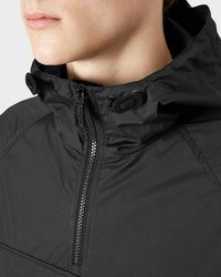 Hunter - Black Men's Original Packable Cagoule for Men - Lyst