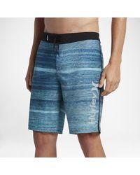 """Hurley Blue Phantom Sandbar 20"""" Board Shorts for men"""