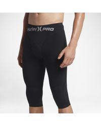 "Hurley Black Pro Max 23"" Surf Shorts for men"