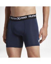 """Hurley Blue Pro Light 13"""" Shorts for men"""
