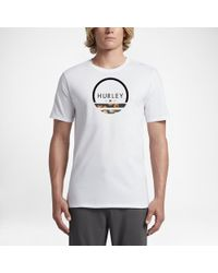 Hurley - White Olas T-shirt for Men - Lyst