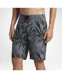 "Hurley Black Phantom Jjf 3 Maps Elite 20"" Board Shorts for men"