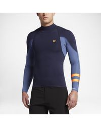 Hurley Blue Fusion 101 Jacket Wetsuit for men