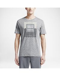 Hurley - Gray Born From Water T-shirt for Men - Lyst