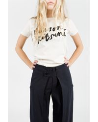 Band of Outsiders | Blue Wide Leg Pants | Lyst