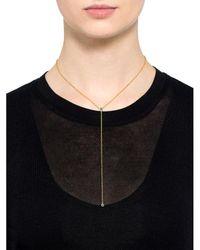 Maria Black - Metallic Helix Necklace - Lyst