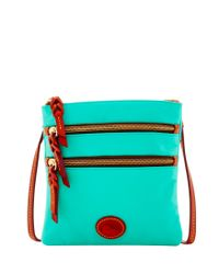 Dooney & Bourke - Multicolor Nylon North South Triple Zip - Lyst
