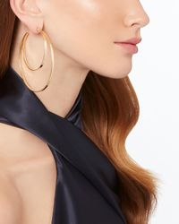 Jennifer Zeuner - Metallic Zuma Double Hoop Earrings - Lyst