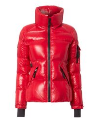 Sam. | Candy Red Freestyle Puffer Jacket | Lyst