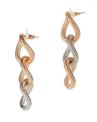 Vita Fede - Multicolor Raffina Two-tone Link Earrings - Lyst