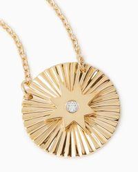 Jennifer Zeuner - Metallic Iris Mini Gia Necklace - Lyst