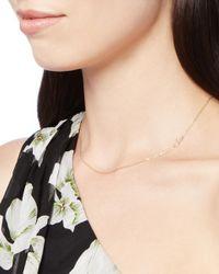Bianca Pratt - Metallic 10k Script Initial S Necklace - Lyst