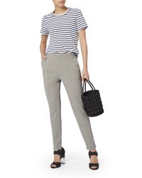 T By Alexander Wang - Gray Grey Skinny Sweatpants - Lyst