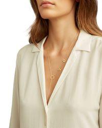 Jennifer Zeuner - Metallic Love Necklace - Lyst