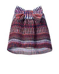 Saloni - Multicolor Eve Strapless Tie Top - Lyst