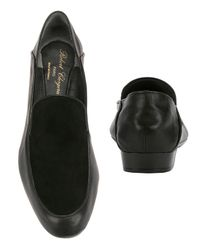 Robert Clergerie - Fani Leather/suede Loafers: Black - Lyst