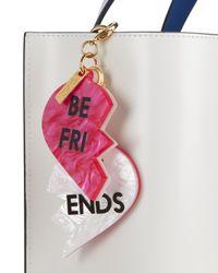 Edie Parker | Pink Best Friends Charm | Lyst