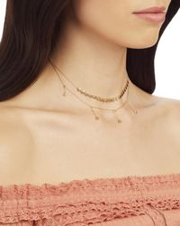 Jennifer Zeuner - Metallic Pre-layered Short Necklace - Lyst