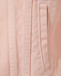 Veronica Beard - Pink Rowan Jean Jacket - Lyst