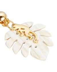 Oscar de la Renta - Natural Small Jungle Horn Earrings - Lyst