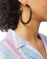 Cult Gaia - Brown Geneva Tortoise Hoop Earrings - Lyst