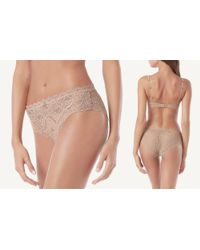 Intimissimi - Natural Lace Panties - Lyst