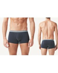 Intimissimi | Blue Micro-dot Print Stretch-cotton Boxers for Men | Lyst