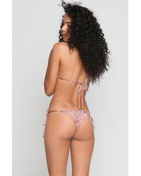 Indah - Multicolor *ishine Exclusive* Hiba Bikini Top - Lyst
