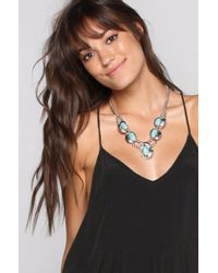 Natalie B. Jewelry | Blue Small Two Raven Handmade Necklace | Lyst
