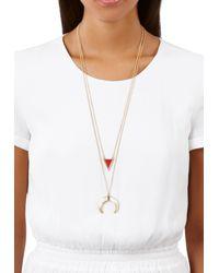 Ivyrevel - Metallic Lunar Necklace Gold Metal - Lyst