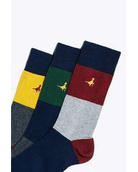 Jack Wills - Blue Ickenham 3 Pack Socks for Men - Lyst