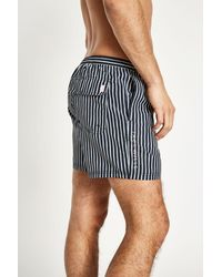 Jack Wills - Blue Branwell Stripe Swim Trunks for Men - Lyst