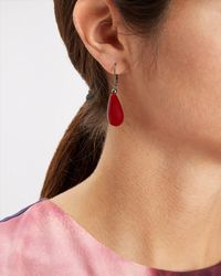 Jaeger - Multicolor Resin Drop Earrings - Lyst