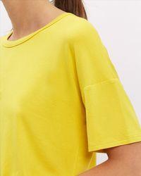 Jaeger - Blue Jersey T-shirt - Lyst