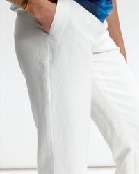 Jaeger - White Summer Trousers - Lyst