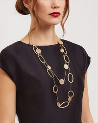 Jaeger | Metallic Zaha Link Necklace | Lyst