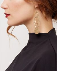 Jaeger | Metallic Zaha Link Earrings | Lyst